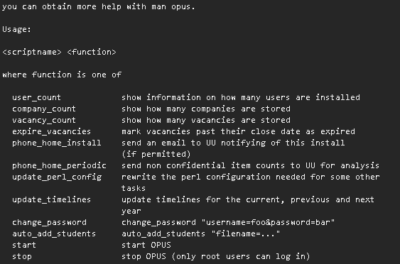 OPUS Command Line Tool