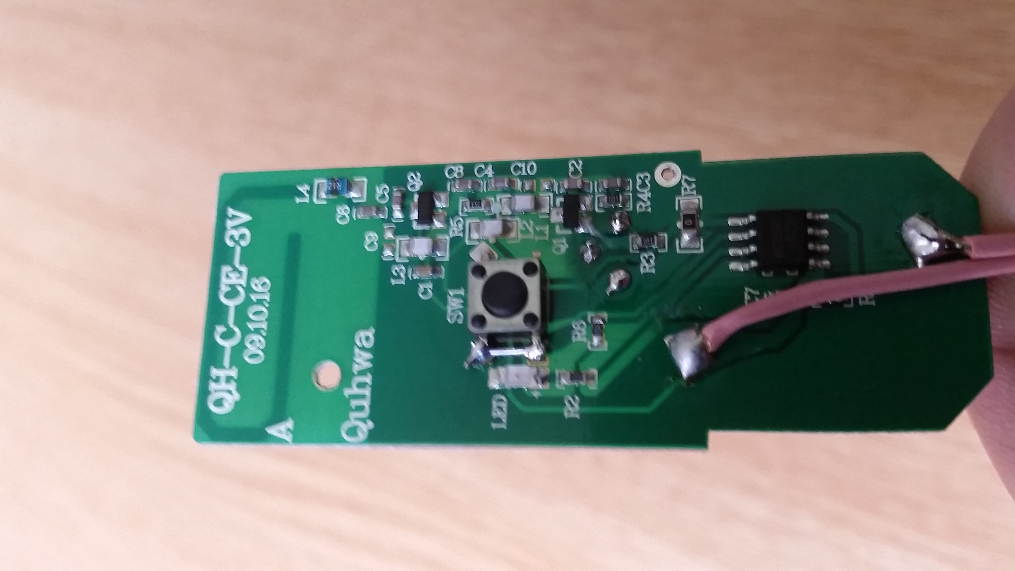 Home Diy Electronic Doorbell Circuit Extending A Wired With Wireless One Proving The Soldered Push Button